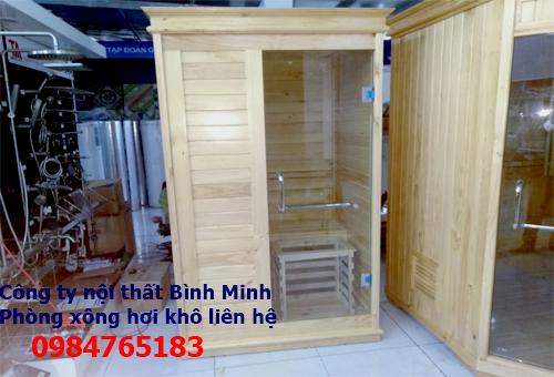 Phòng xông hơi tại Đà Nẵng, báo giá thi công phòng xông hơi