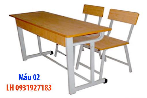Bàn ghế học sinh tại Đà Nẵng, đóng bàn ghế học sinh trường hoc, gia đình 2