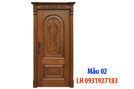 Đóng cửa gỗ tại Đà Nẵng, báo giá thi công cửa gỗ tự nhiên 2