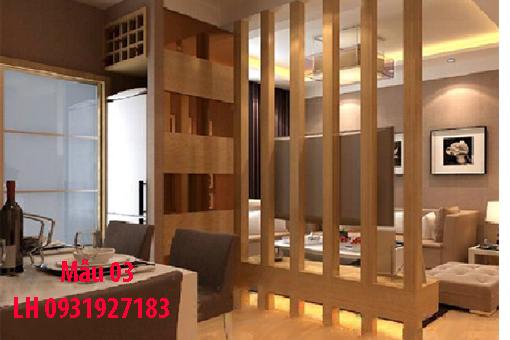 Lam gỗ trang trí tại Đà Nẵng, thi công lam gỗ tự nhiên, lam gỗ công nghiệp 3