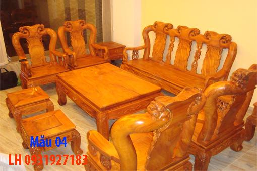 Bàn ghế phòng khách tại Đà Nẵng, Nhận báo giá bàn ghế phòng khách 4