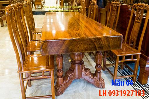 Bàn ghế ăn tại Đà Nẵng, nhận đóng bàn ghế ăn theo yêu cầu3