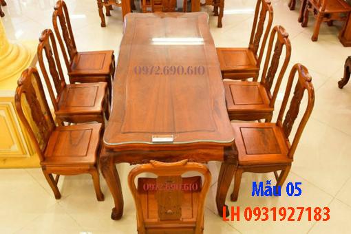 Bàn ghế ăn tại Đà Nẵng, nhận đóng bàn ghế ăn theo yêu cầu4