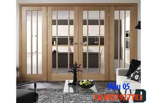 Đóng cửa gỗ tại Đà Nẵng, báo giá thi công cửa gỗ tự nhiên 5