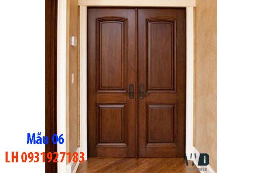 Đóng cửa gỗ tại Đà Nẵng, báo giá thi công cửa gỗ tự nhiên 6