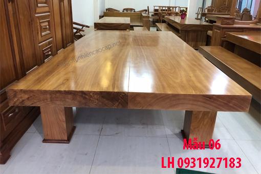 Đóng sập gỗ tại Đà Nẵng, báo giá sập gỗ tự nhiên 6