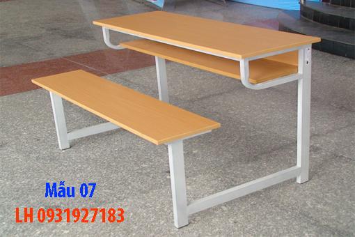 Bàn ghế học sinh tại Đà Nẵng, đóng bàn ghế học sinh trường học, gia đình 7