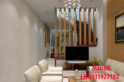 Lam gỗ trang trí tại Đà Nẵng, thi công lam gỗ tự nhiên, lam gỗ công nghiệp 8