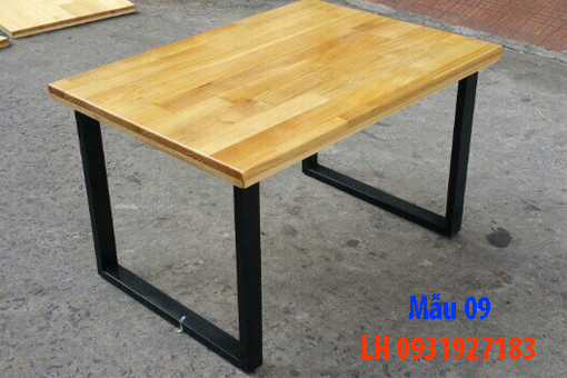 Bàn ghế quán cà phê tại Đà Nẵng, báo giá bàn ghế cà phê 9