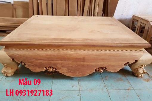 Đóng sập gỗ tại Đà Nẵng, báo giá sập gỗ tự nhiên 9