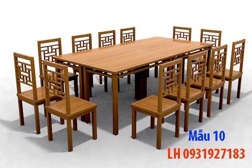 Bàn ghế ăn tại Đà Nẵng, nhận đóng bàn ghế ăn theo yêu cầu 10