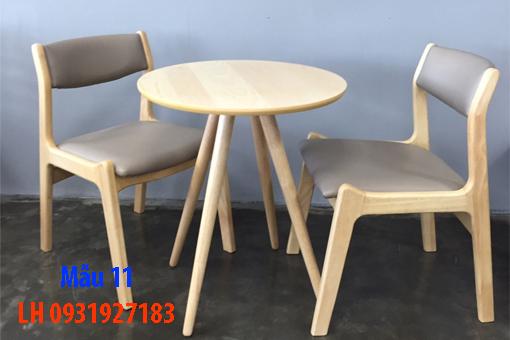 Bàn ghế quán cà phê tại Đà Nẵng, báo giá bàn ghế cà phê 11