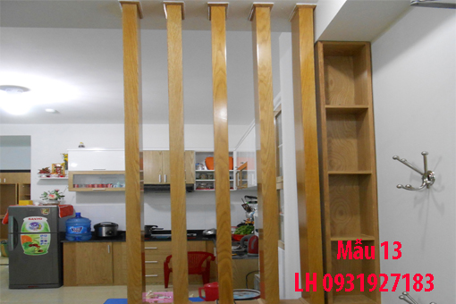 Lam gỗ trang trí tại Đà Nẵng, thi công lam gỗ tự nhiên, lam gỗ công nghiệp 13