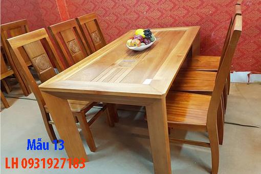 Bàn ghế ăn tại Đà Nẵng, nhận đóng bàn ghế ăn theo yêu cầu 13