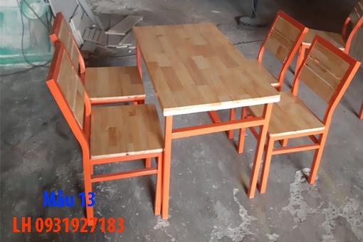 Bàn ghế quán cà phê tại Đà Nẵng, báo giá bàn ghế cà phê 13