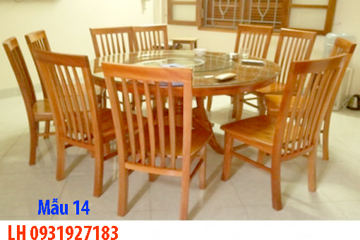 Bàn ghế ăn tại Đà Nẵng, nhận đóng bàn ghế ăn theo yêu cầu 14