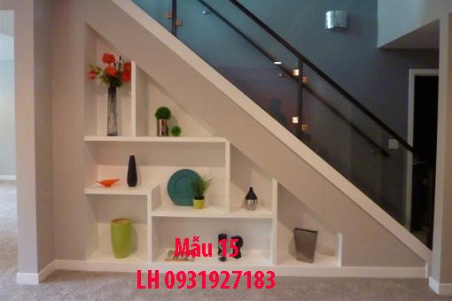 Đóng tủ cầu thang tại Đà Nẵng, thi công tủ gầm cầu thang giá rẻ 15