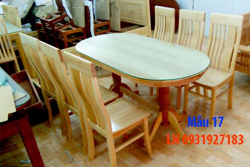 Bàn ghế ăn tại Đà Nẵng, nhận đóng bàn ghế ăn theo yêu cầu 17