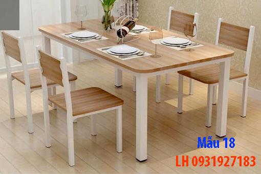 Bàn ghế ăn tại Đà Nẵng, nhận đóng bàn ghế ăn theo yêu cầu 18