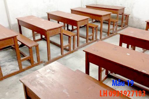Công ty thi công nội thất đóng theo yêu cầu. Mẫu bàn ghế học sinh đẹp 19