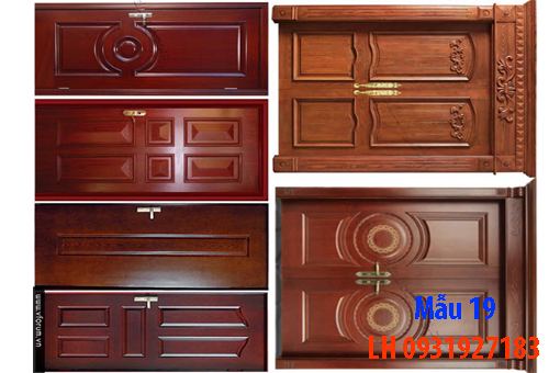 Đóng cửa gỗ tại Đà Nẵng, báo giá thi công cửa gỗ tự nhiên 19