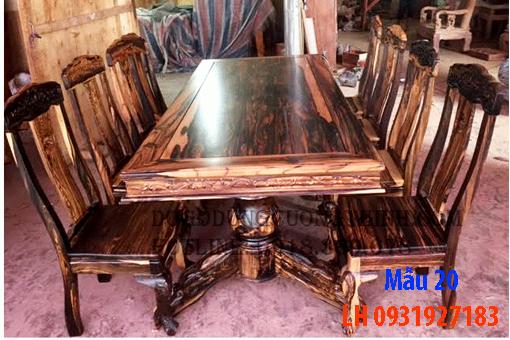 Bàn ghế ăn tại Đà Nẵng, nhận đóng bàn ghế ăn theo yêu cầu 20