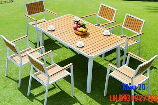 Bàn ghế quán cà phê tại Đà Nẵng, báo giá bàn ghế cà phê 20