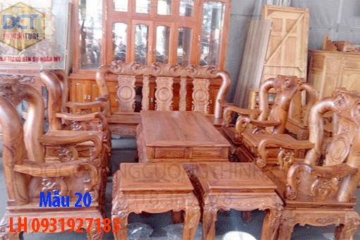 Bàn ghế phòng khách tại Đà Nẵng, Nhận báo giá bàn ghế phòng khách 20