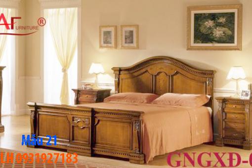 Giường gỗ tại Đà Nẵng, Báo giá đóng giường gỗ tự nhiên và giường gỗ công nghiệp