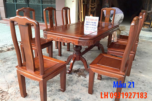 Bàn ghế ăn tại Đà Nẵng, nhận đóng bàn ghế ăn theo yêu cầu 21