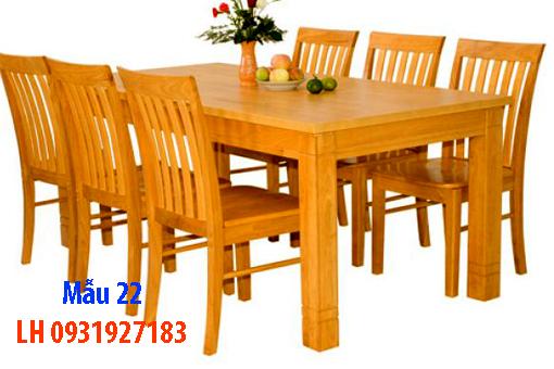 Bàn ghế ăn tại Đà Nẵng, nhận đóng bàn ghế ăn theo yêu cầu 22