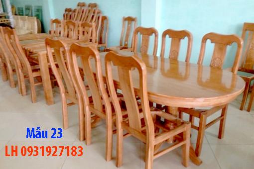 Bàn ghế ăn tại Đà Nẵng, nhận đóng bàn ghế ăn theo yêu cầu 23