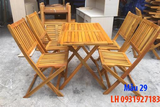 Bàn ghế quán cà phê tại Đà Nẵng, báo giá bàn ghế cà phê 29